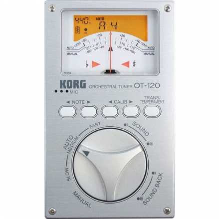 Korg OT-120 Studio Pro Tuner - Chromatic New